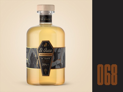 Everyday - 068 devil alcohol packaging tequila casket the outsider el cuco horror everyday