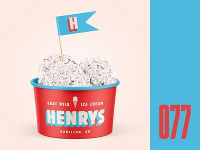 Everyday - 077 scoops hamilton ice cream cone cream milk ice cream everyday