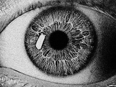 Mezzotint Eye - Day 24