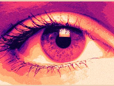 Posterized Eye - Eye 94