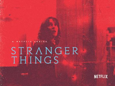 Stranger Things - Type (34) tv show netflix tv mystery horror sci-fi stranger things typography type
