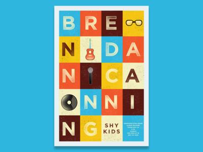 Brendan Canning Gig Poster