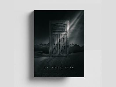 The Shining - Stephen King book cover stephen king door redrum horror shining