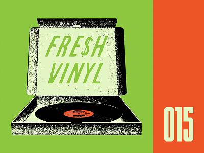 Everyday - 015 photo illustration vinyl fresh pizza everyday