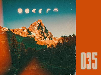 Everyday - 035 photo manipulation surreal kodak film vintage mountains everyday