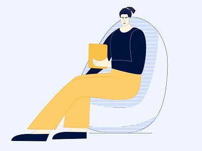 Home schooling illustrator editorial illustration drawing digitalart digital illustration character illustration characterdesign design app design webillustration illustration art illustration