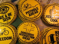 Cyclist signs