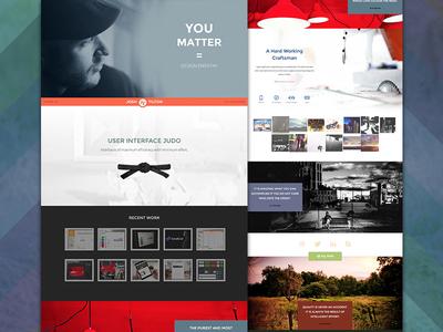 YOU MATTER // New Website