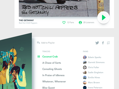 Music Feed -  Preview {WIP} ui music feed ui kit wip