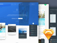 Based UI Kit for Sketch : Free