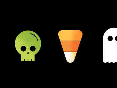 Halloween Icons halloween misfits icon october ghost candy corn skull