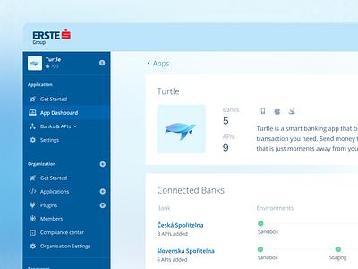 Developer portal app dashboard devportal developer portal banking bank bank app api dashboard