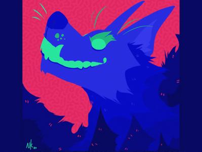 The Hound of Baskervilles sherlock holmes werewolf wolf characterdesign design cartoon illustration art colourful illustration art