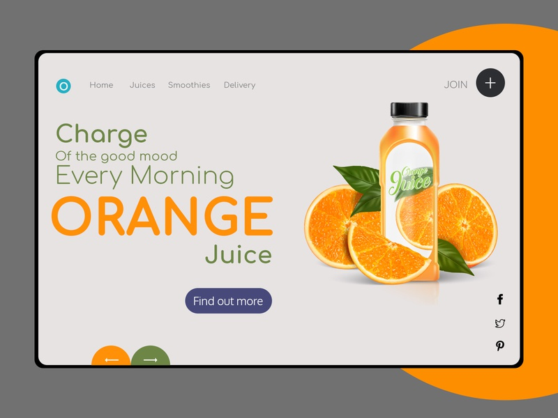 Product tab energy health colors orange product page product logo vector icon typography ui illustration web app mobile graphic design grey