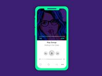 I phone - Music Player