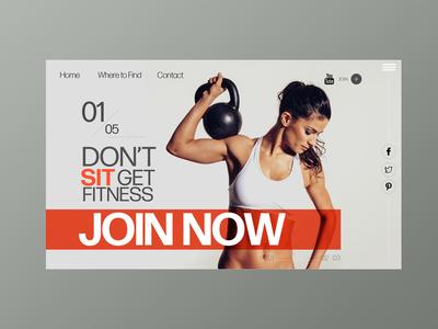 Gym Web Concept