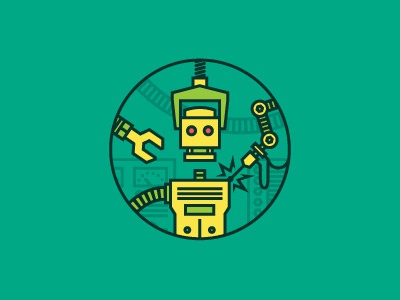 Dribbble robot