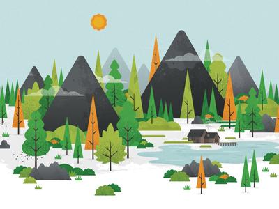 #PENLAKEYANKEES canada muskoka peninsula lake illustration website instagram