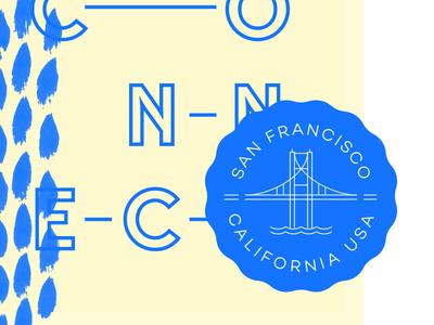SF Seal & More hand drawn brand vector seal