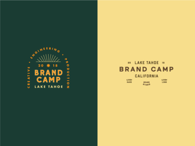 blimp crimp type logo brand camp brand studio google