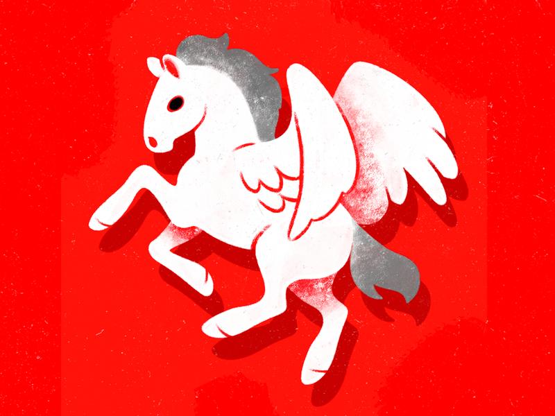 Pegasus in White I