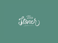 The Stoner Logo Sketch hand lettering lettering typography logotype