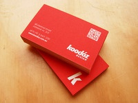 Koodoz Design - BusinessCards