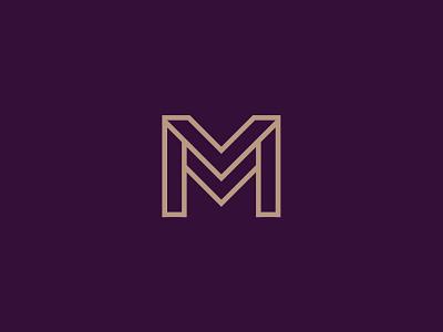 MM Monogram Concept classic logo monogram logotype logo branding brand identity