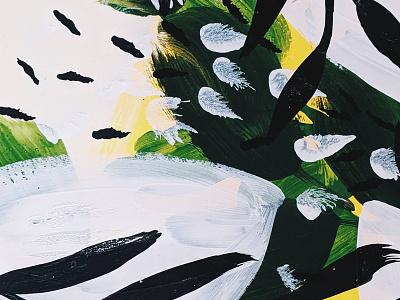 Acrylic Study watercolor textiles paint design branding brush pattern design packaging pattern texture paint