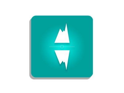 ThymTrack App Icon icon logo mood tracker mood medical app medical humeur flutter design app