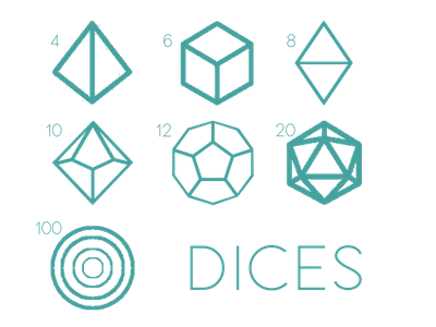 Dices flatdesign layoutdesign dice game roll shape layout dices