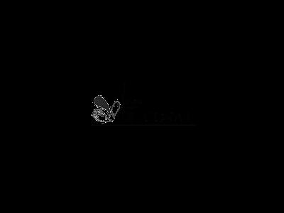 Education blog logo blog black drops logo