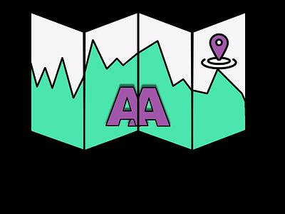 App Atlas Logo branding design logo