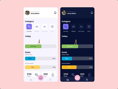 Workout Tracking Apps workout workout app dailyui exploration design mobile app design ui
