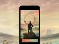 Personal Exploration App Design