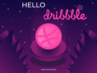 Hello Dribbble I First Shot