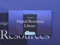Digital Resources Library ✨
