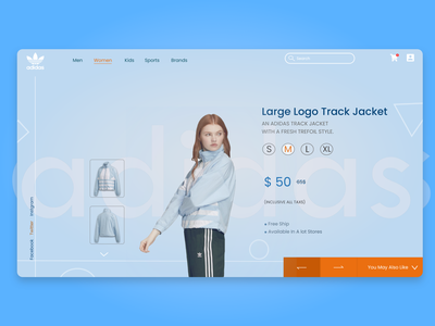 Adidas New Arrival | UI UX Web Design winter clothes adidas originals adidas clothing shop web design ecommerce clothing brand e-commerce shop e-commerce clothes shop design ui ux web clothes branding ui web design ui ui design ui ux website ui ux web design ui ux design