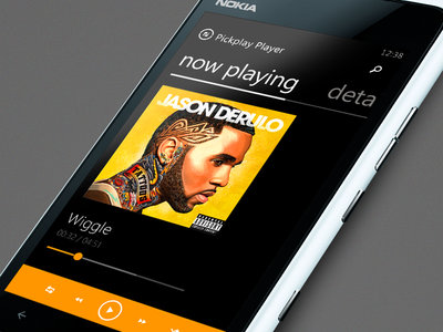 Pickplay - Windows Phone rnb derulo windows wp windows phone sketch clean app ui music player