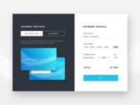 Credit сard - Checkout flow