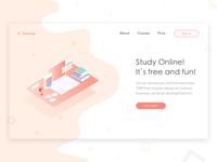 E-learning - Web concept