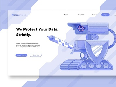 Security Banner and Landing Page