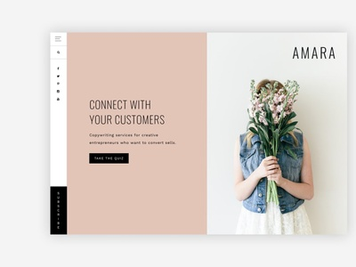 Amara - A Theme for entrepreneurs theme for wordpress theme design website design landing page website web branding design