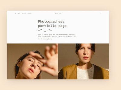 Eisai Pro - Gutenberg ready theme wordpress theme design web design theme landing page website web branding design