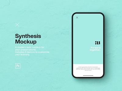Synthesis - Smartphone Mockup mockup design mockup psd smartphone mockup iphone mockup mockup branding design