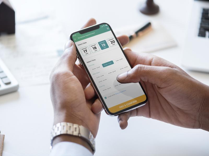 Mobile Application - Portea Medical uiux ux ui uxdesign visual design uidesign