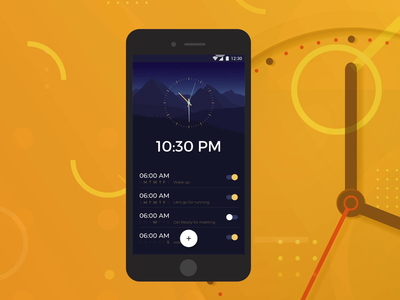 Clock Animation In Adobe XD