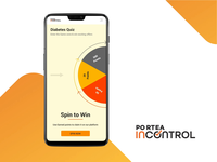Spin Wheel Interaction - Portea Incontrol