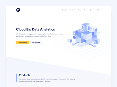 UI/UX Design for Machine Learning and AI Platform data migration big data machine learning data cloud clean ux design ui 2020 2020 trends