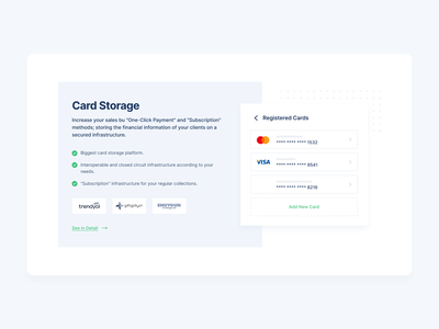 Payment Solutions & Card Storage for Online Payment Platform cards payments 2020 2020 trends clean minimal ux design ui